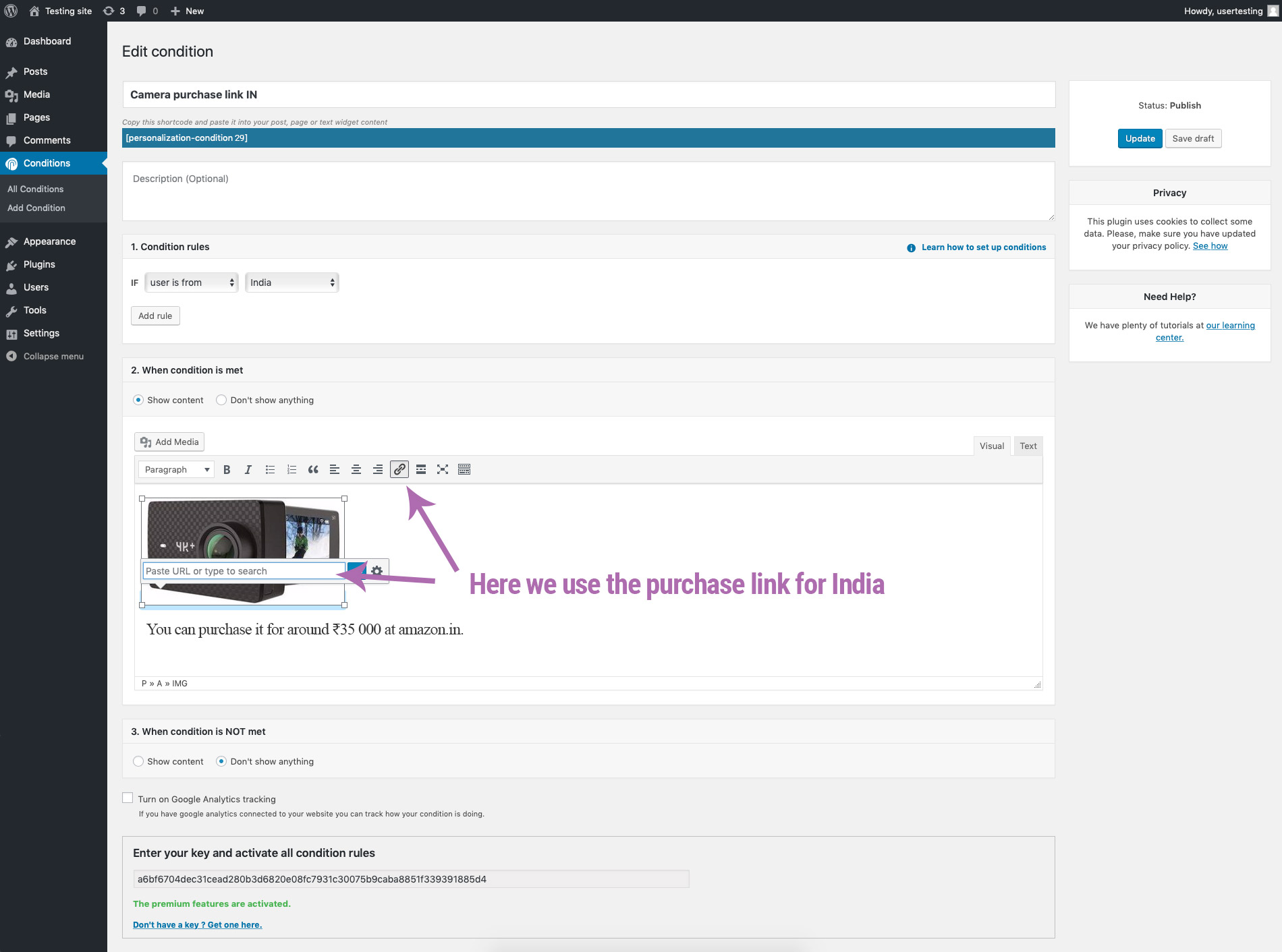 setting-up-personalization-purchase-link-for-india